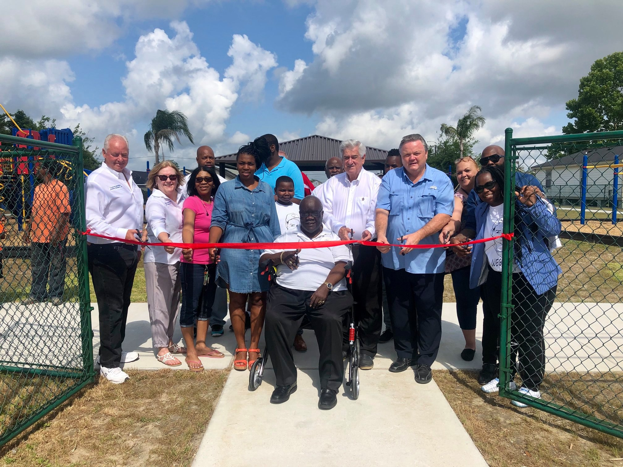 Dedication of Christian Jones Park May 18, 2019